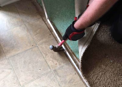 Greenville Sc Carpet Repair Threshold repair - mid-repair